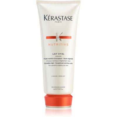 Kérastase Nutritive Lait Vital der nährende Conditioner Für normales bis trockenes Haar