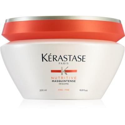 Kérastase Nutritive Masquintense máscara nutritiva para cabelo fino