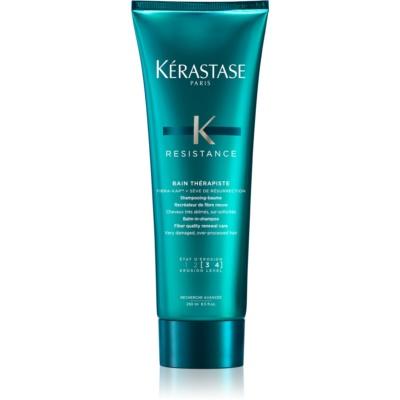 pečující šampon pro velmi poškozené vlasy