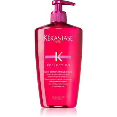 Kérastase Reflection Bain Chromatique Riche champú protector nutritivo para cabello teñido y sensible