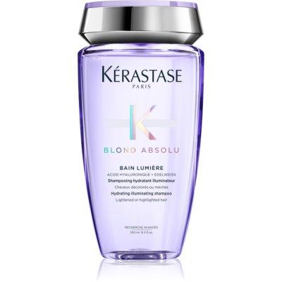 Kérastase Blond Absolu Bain Lumière šampónový kúpeľ pre zosvetlené alebo melírované vlasy
