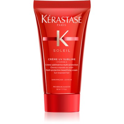Kérastase Soleil Créme UV Sublime zaštitna krema za kosu iscrpljenu klorom, suncem i slanom vodom