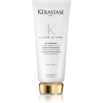 Kérastase Elixir Ultime zkrášlující olejový kondicionér pro normální až citlivé vlasy