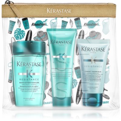 Kérastase Résistance Extentioniste Cosmetic Set For Hair Roots Strengthening And Hair Growth Support