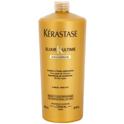 Conditioner mit wertvollen Ölen für alle Haartypen