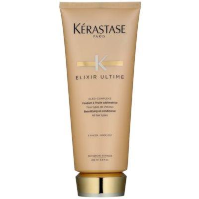 zkrášľujúci olejový kondicionér pre všetky typy vlasov