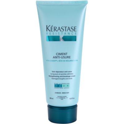intensive Pflege für geschwächtes und leicht geschädigtes Haar und splissige Haarspitzen