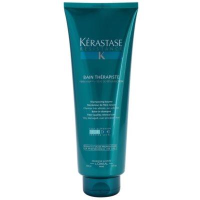 obnovitveni šampon za poškodovane in kemično obdelane lase