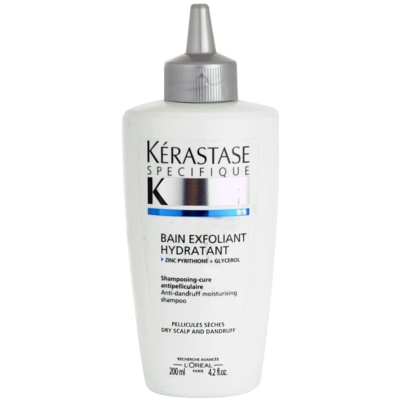 šamponska kopel proti prhljaju za suho lasišče