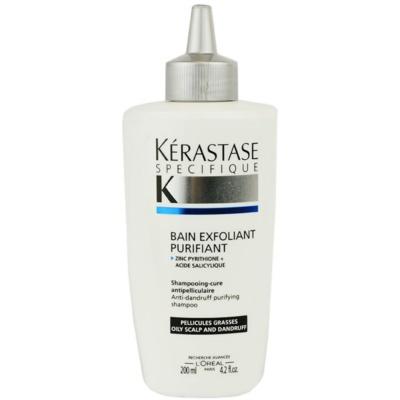 šamponska kopel proti prhljaju za mastno lasišče