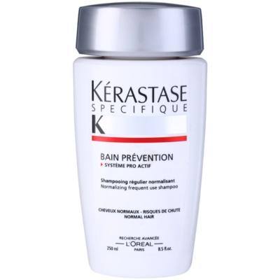 Shampoo-Kur mit Präventivschutz gegen Haarausfall bei normalem Haar