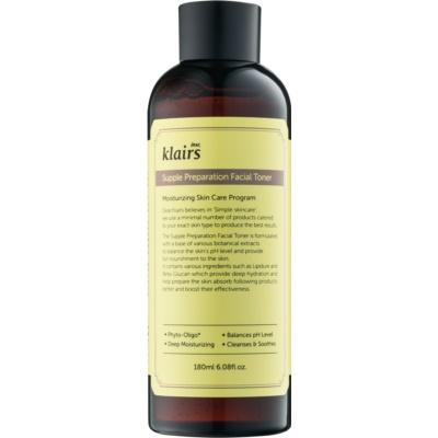 Klairs Supple Preparation tonik nawilżający wyrównujący pH skóry