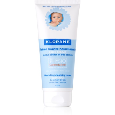 Klorane Bébé Cold Cream Nourishing Cleansing Lotion For Dry To Very Dry Skin
