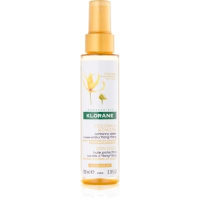 Klorane Ylang-Ylang προστατευτικό λάδι για μαλλιά ταλαιπωρημένα από τον ήλιο