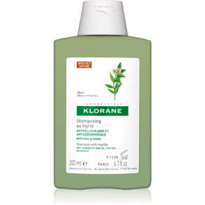 Klorane Myrtle Shampoo To Treat Oily Dandruff