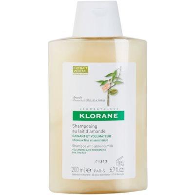 Klorane Amande Shampoo For Volume