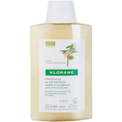 Klorane Almond Shampoo For Volume