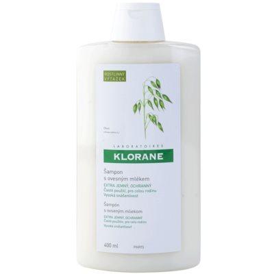 Klorane Lait d'avoine shampoing pour les lavages fréquents des cheveux