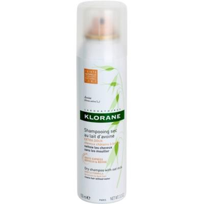 Klorane Avoine shampoo secco per capelli castani e scuri