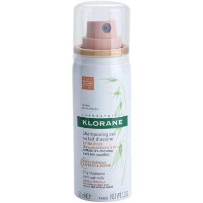 Klorane Oat Milk shampoo secco per capelli castani e scuri