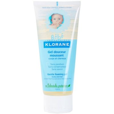 Klorane Bébé Gentle Foaming Gel For Hair And Body