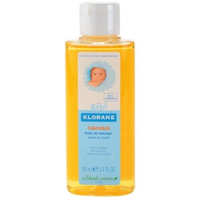 óleo de massagem para crianças