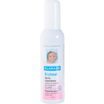 Klorane Bébé Erytéal Spray To Treat Diaper Rash