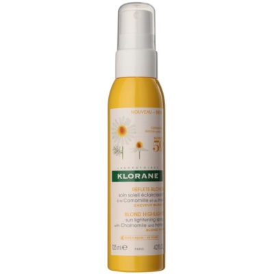 Klorane Camomille Leave-In Brightening Treatment for Blond Hair