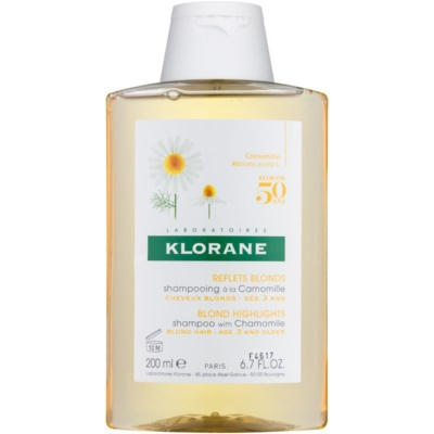 Klorane Camomille Shampoo For Blonde Hair