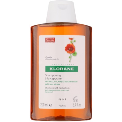 Klorane Capucine shampoing anti-pellicules sèches
