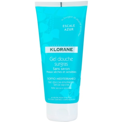 Klorane Hygiene et Soins du Corps Escale Azur gel de dus