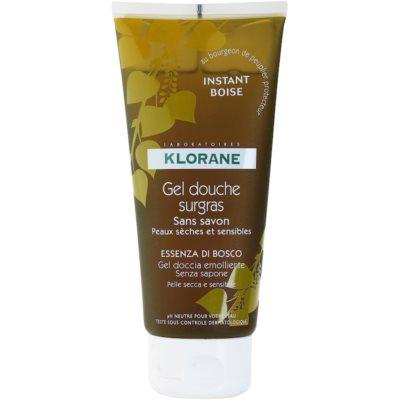 Klorane Hygiene et Soins du Corps Instant Boise gel de douche