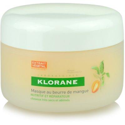Klorane Mangue masque nourrissant pour chevex secs et abîmés
