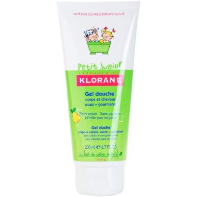 sprchový gel na tělo a vlasy s vůní hrušky
