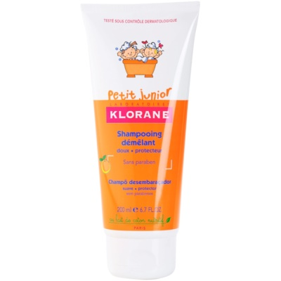 Klorane Petit Junior szampon dla dzieci o zapachu brzoskwini