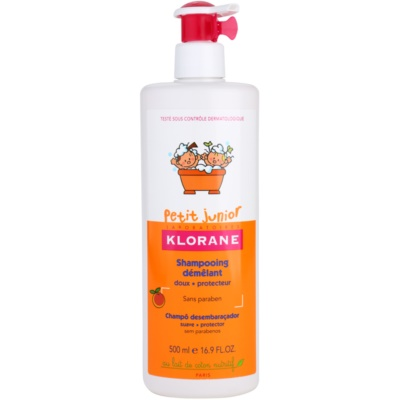 Klorane Petit Junior Kids' Shampoo With Aromas Of Peaches