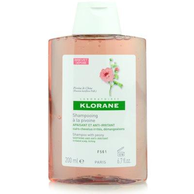 Klorane Peony shampoing apaisant cuir chevelu