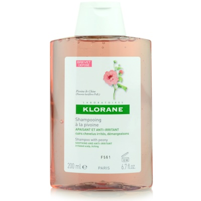 Klorane Peony Shampoo Soothing Sensitive Scalp