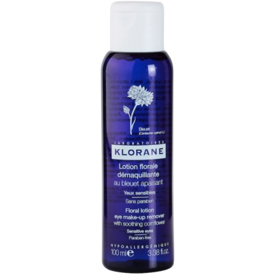 Klorane Cornflower Make - Up Removing Water For Sensitive Eyes