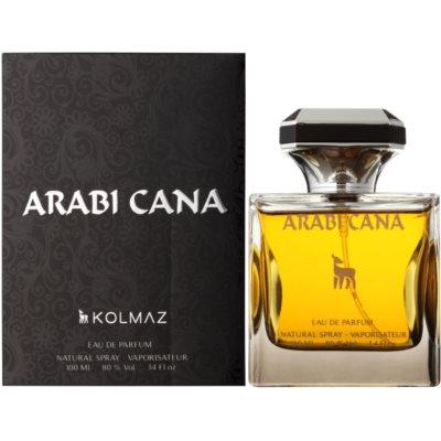 Kolmaz Arabi Cana Eau de Parfum voor Mannen