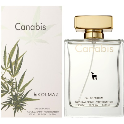 Kolmaz Cannabis eau de parfum para hombre 100 ml