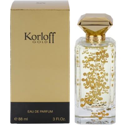 Korloff Gold woda perfumowana dla kobiet