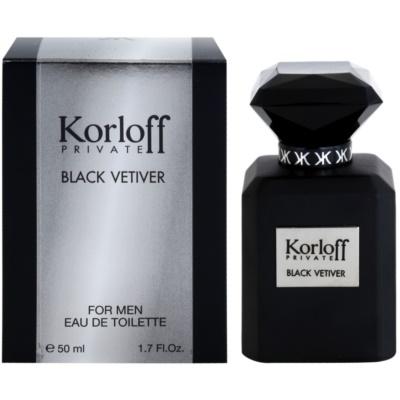 Korloff Korloff Private Black Vetiver тоалетна вода унисекс