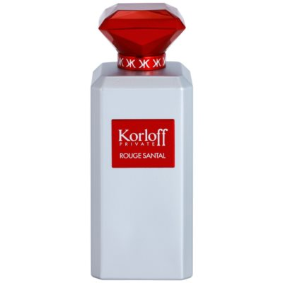 Korloff Korloff Private Rouge Santal eau de toillete unisex