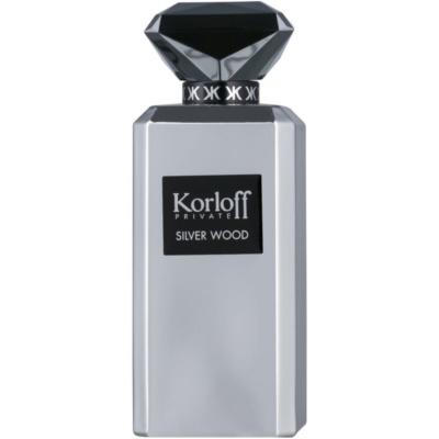 Korloff Korloff Private Silver Wood Eau de Parfum για άνδρες