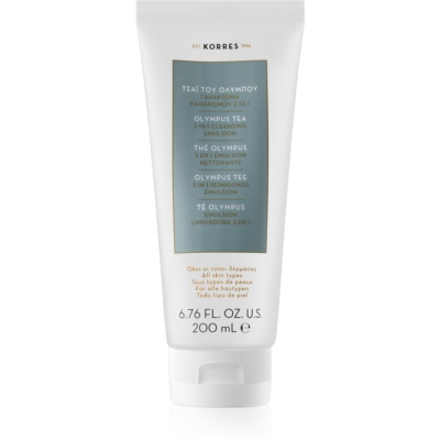 Korres Olympus Tea Cleansing Emulsion 3 in 1