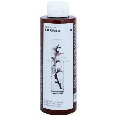 Korres Almond & Linseed Shampoo for Dry and Damaged Hair