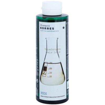Korres Hair Cystine and Minerals Shampoo gegen Haarausfall für Herren