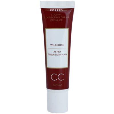 crema CC con efecto luminoso  SPF 30