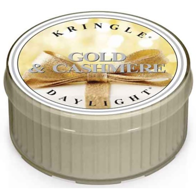 Kringle Candle Gold & Cashmere candela scaldavivande